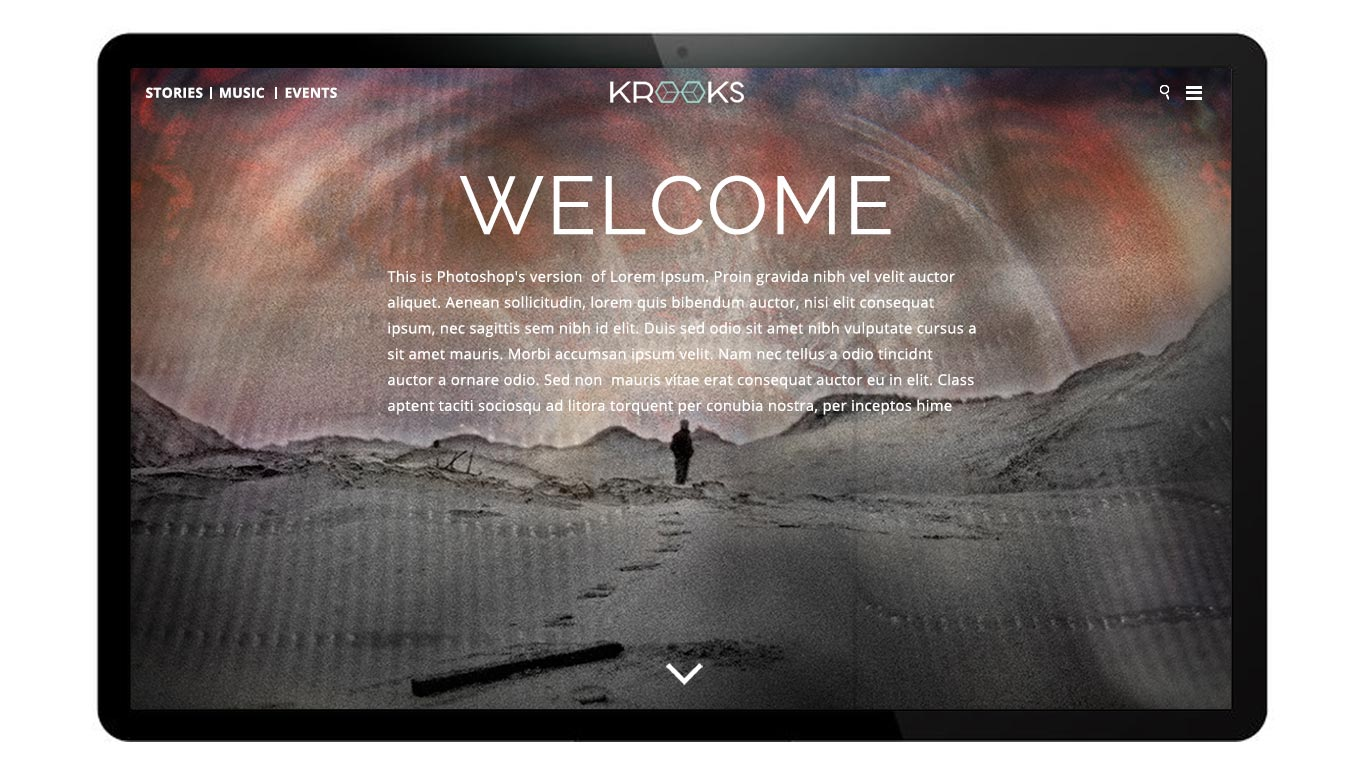 krooks-homepage